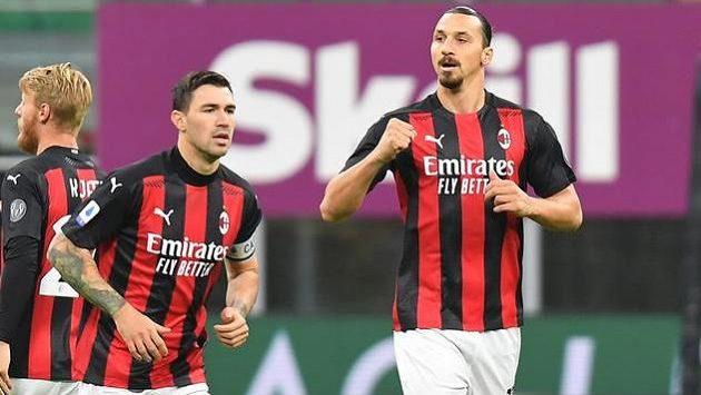 Zlatan Ibrahimovic se postaral o první branku utkání