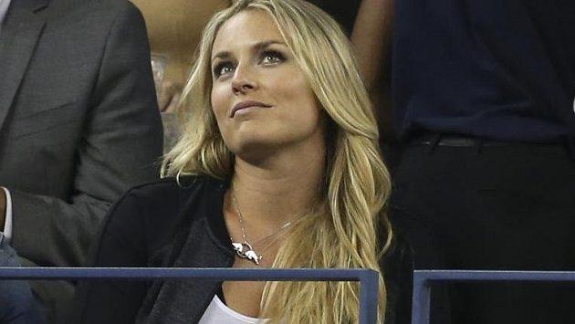 Při US Open mohla v lóži držet palce svému oblíbenci Rogeru Federerovi.