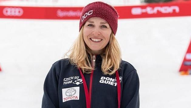 Česká lyžařka Tereza Kmochová na archivním snímku.