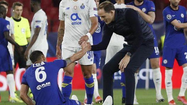 Sestřih čtvrtfinálového zápasu Ligy mistrů Chelsea - Porto