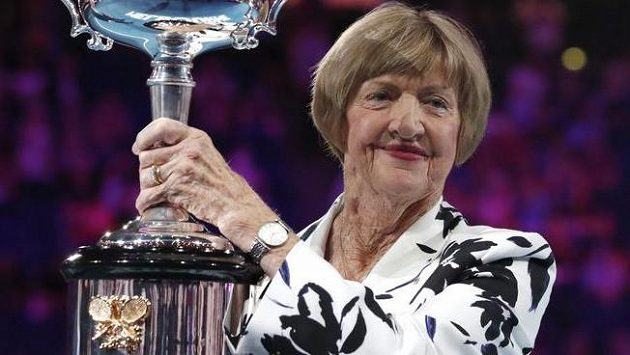 Tenisová legenda Margaret Courtová