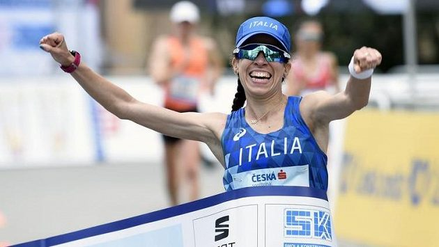 Chodecký závod žen vyhrála v Poděbradech Eleonora Anna Giorgiová z Itálie.