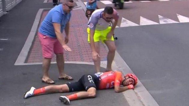 Alessandro de Marchi měl na Tour de France velmi vážný pád