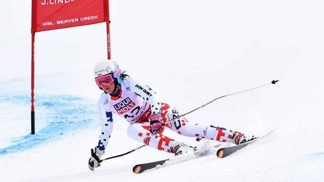 Kateřina Pauláthová na světovém šampionátu v Beaver Creeku.