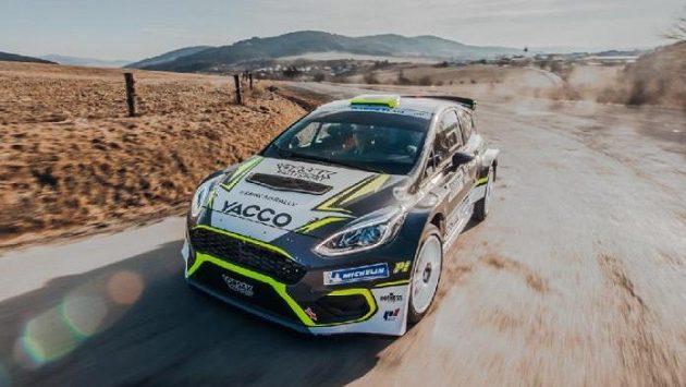 Český pilot Erik Cais patří k největším talentům světové rally. (ilustrační foto)