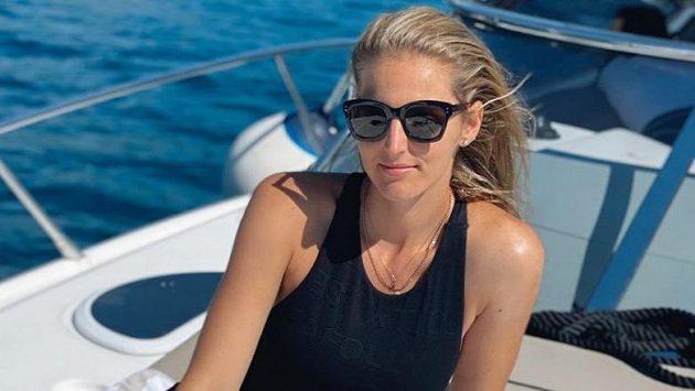 Kristýna Plíšková se rozešla s trenérem.