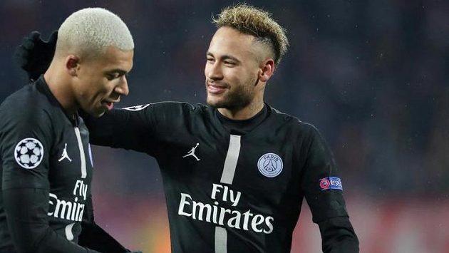 Neymar se o pozici největší hvězdy PSG musí prát s Mbappém