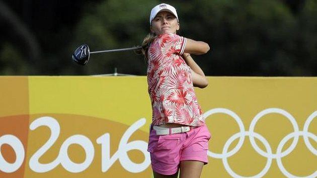 Kláře Spilkové se olympijský golfový turnaj nepovedl.