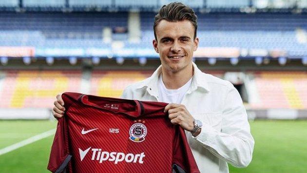 Nor Andreas Vindheim je čerstvou posilou fotbalové Sparty.