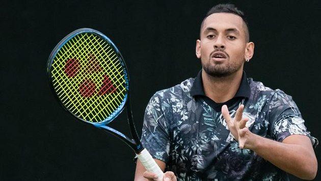 Nick Kyrgios už vyhlíží slavný Wimbledon