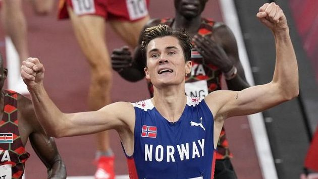 Jakob Ingebrigtsen se mohl radovat ze zlaté olympijské medaile