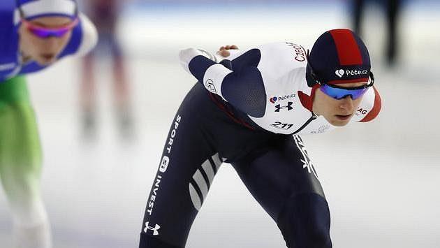 Martina Sáblíková se chystá na závod v Calgary.