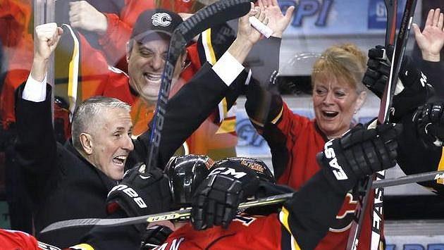 Bob Hartley, kouč Calgary Flames.