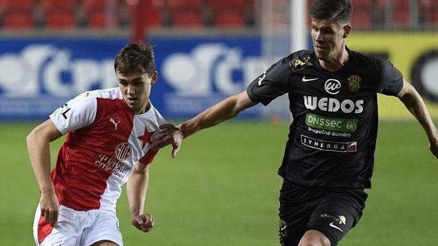 Slavia bojovala o ligové body se Zbrojovkou.