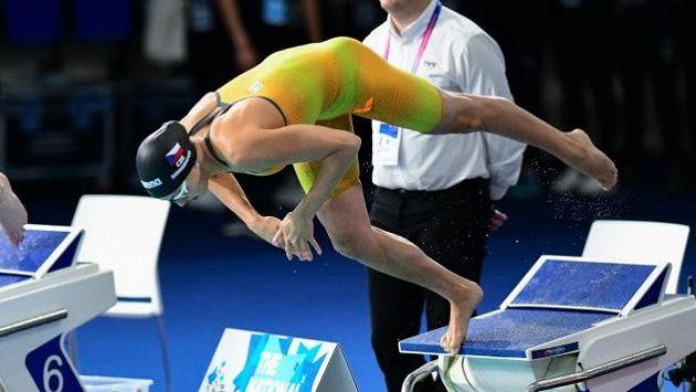Barbora Seemanová si doplavala pro páté místo