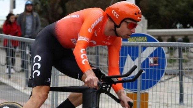 Polský cyklista Lukasz Wišniowski