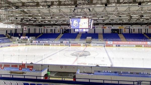 Kladenský zimní stadion je až do 15. srpna uzavřen.