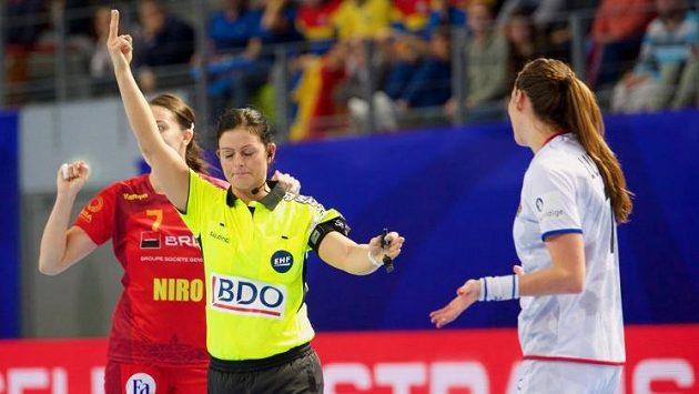 Iveta Luzumová dostává dvouminutový trest (ilustrační foto)