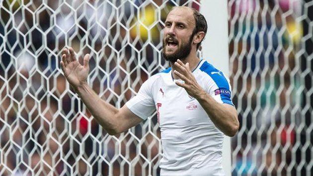 Vítěznému španělskému gólu sice Roman Hubník zabránit nemohl, jinak ale podal velmi dobrý výkon.