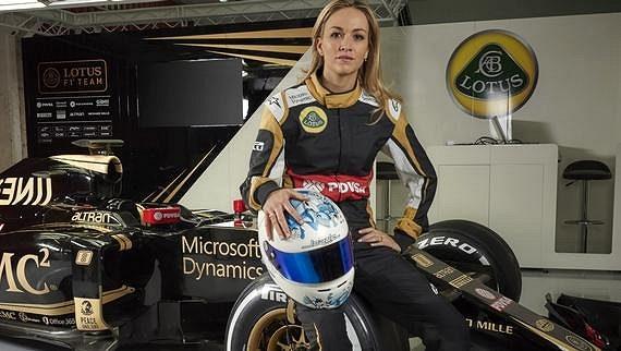 Carmen Jordáová je novou tváří Lotusu.
