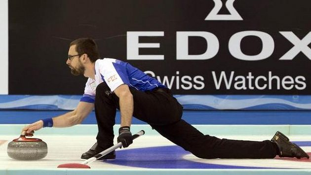 Jeden z českých curlerů Martin Snítil.