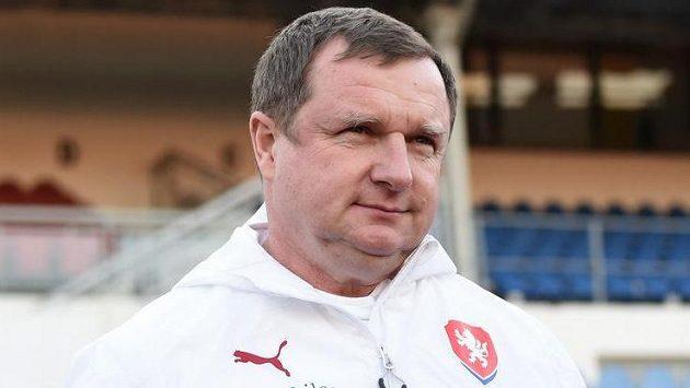 Trenér české fotbalové reprezentace Pavel Vrba.