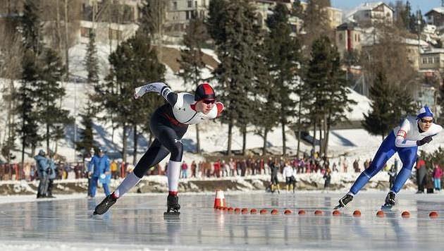 Rychlobruslařka Zuzana Kuršová vybojovala na zimních olympijských hrách mládeže v Lausanne stříbrnou medail