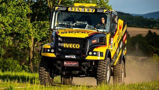 Martin Macík vyrazí na další Dakar s ivecem.