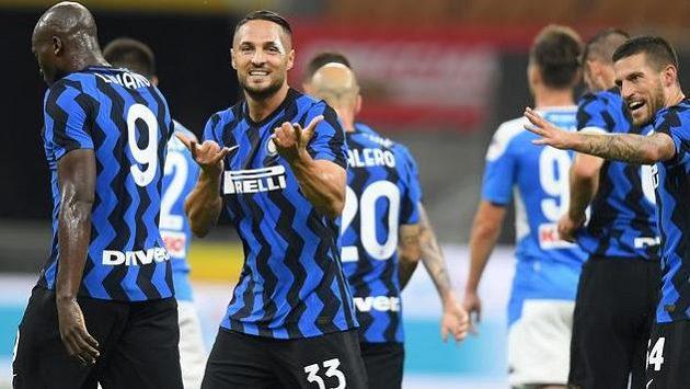 Danilo D'Ambrosio se postaral o úvodní branku Interu Milán