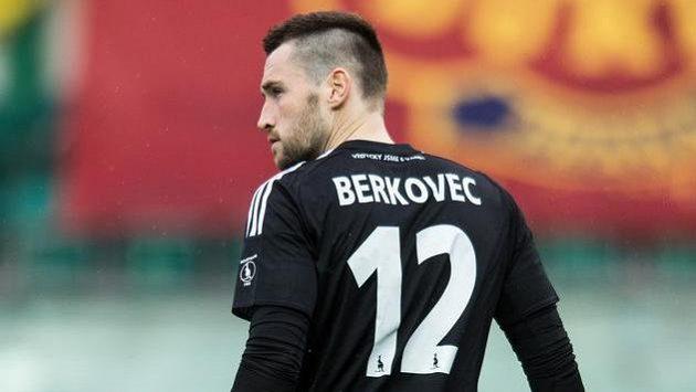 Brankář Martin Berkovec