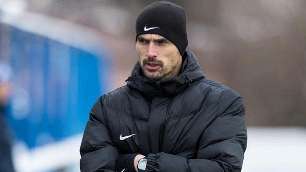 Trenér Příbrami Kamil Tobiáš