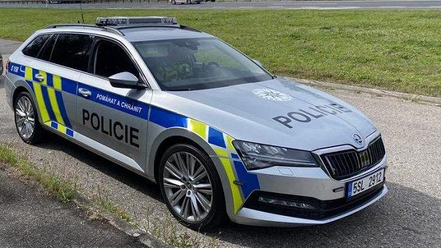 Policejní vůz, ilustrační foto.