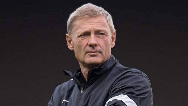 Trenér Sparty Praha Zdeněk Ščasný.