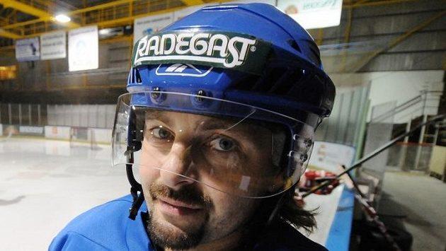 Bývalý hokejový reprezentant David Moravec.