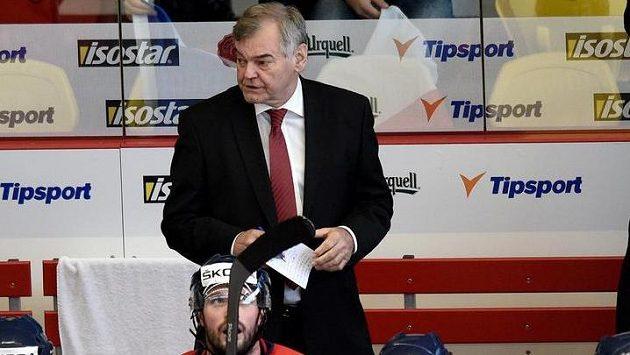 Trenér české hokejové reprezentace Vladimír Vůjtek starší.