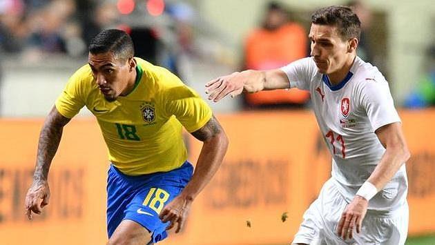 Zleva Brazilec Allan a David Pavelka.
