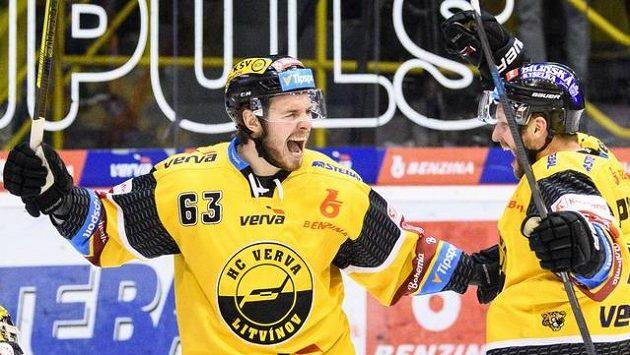 Hokejisté Litvínova, ilustrační foto.