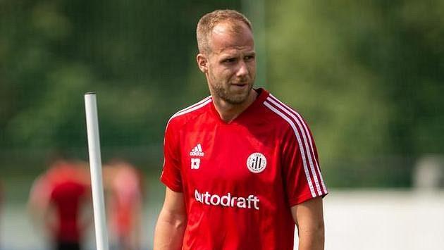 Stoper Martin Králik, jedna z letních posil fotbalistů Českých Budějovic.
