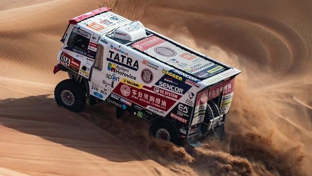 Tatra se ani v nekonečných dunách neztratí...