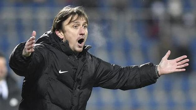 Trenér Slovácka Michal Kordula - ilustrační foto.