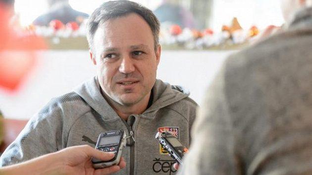 Švýcarský kouč českého týmu Sascha Rhyner.