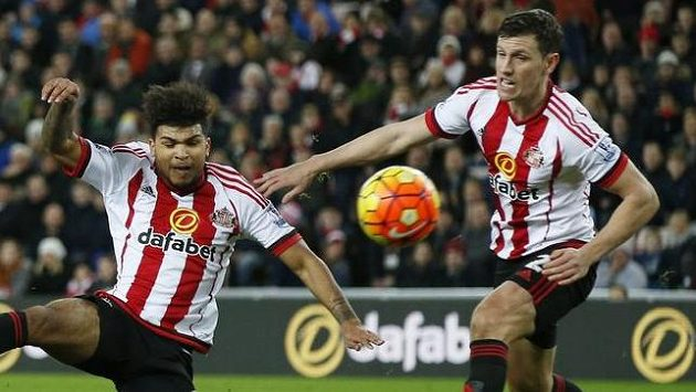 Fotbalisté Sunderlandu - ilustrační foto.