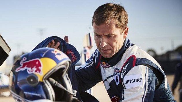 Martin Šonka během kvalifikace v San Diegu.