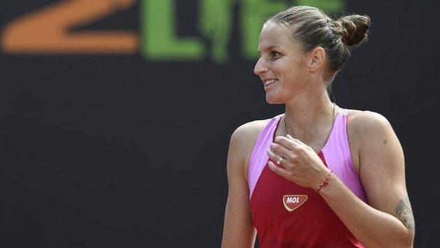 Sestřih zápasu Karolína Plíšková - Siniaková na LiveScore Cupu
