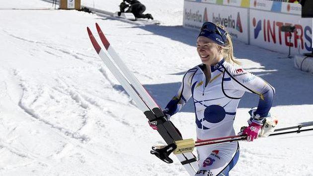 Jonna Sundlingová triumfovala ve sprintu na MS