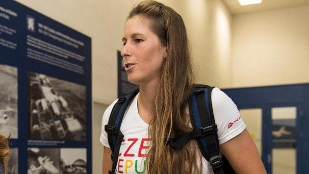 Vodní slalomářka Kateřina Kudějová.