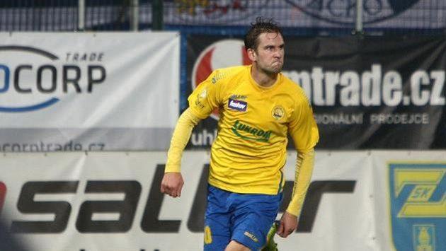 Tomáš Poznar, střelec prvního gólu Zlína proti Slovácku.
