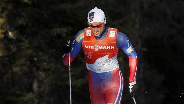Nor Petter Northug na Tour de Ski v Toblachu.