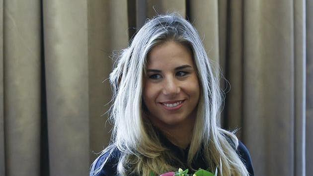 Ester Ledecká na archivním snímku z letošního jara.