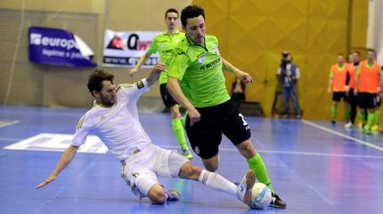 Los osmifinále LM přisoudil Chrudimi favorizovaný Sporting